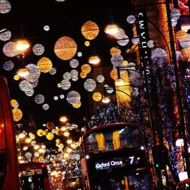 Weihnachtsmärkte und Weihnachtsbeleuchtung Londons 2018