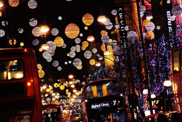 Weihnachtsmärkte und Weihnachtsbeleuchtung Londons 2019/2020