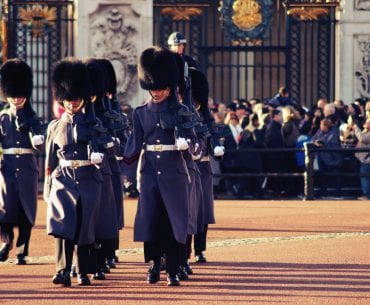 Changing the Guard – Die Wachablösung am Buckingham Palace