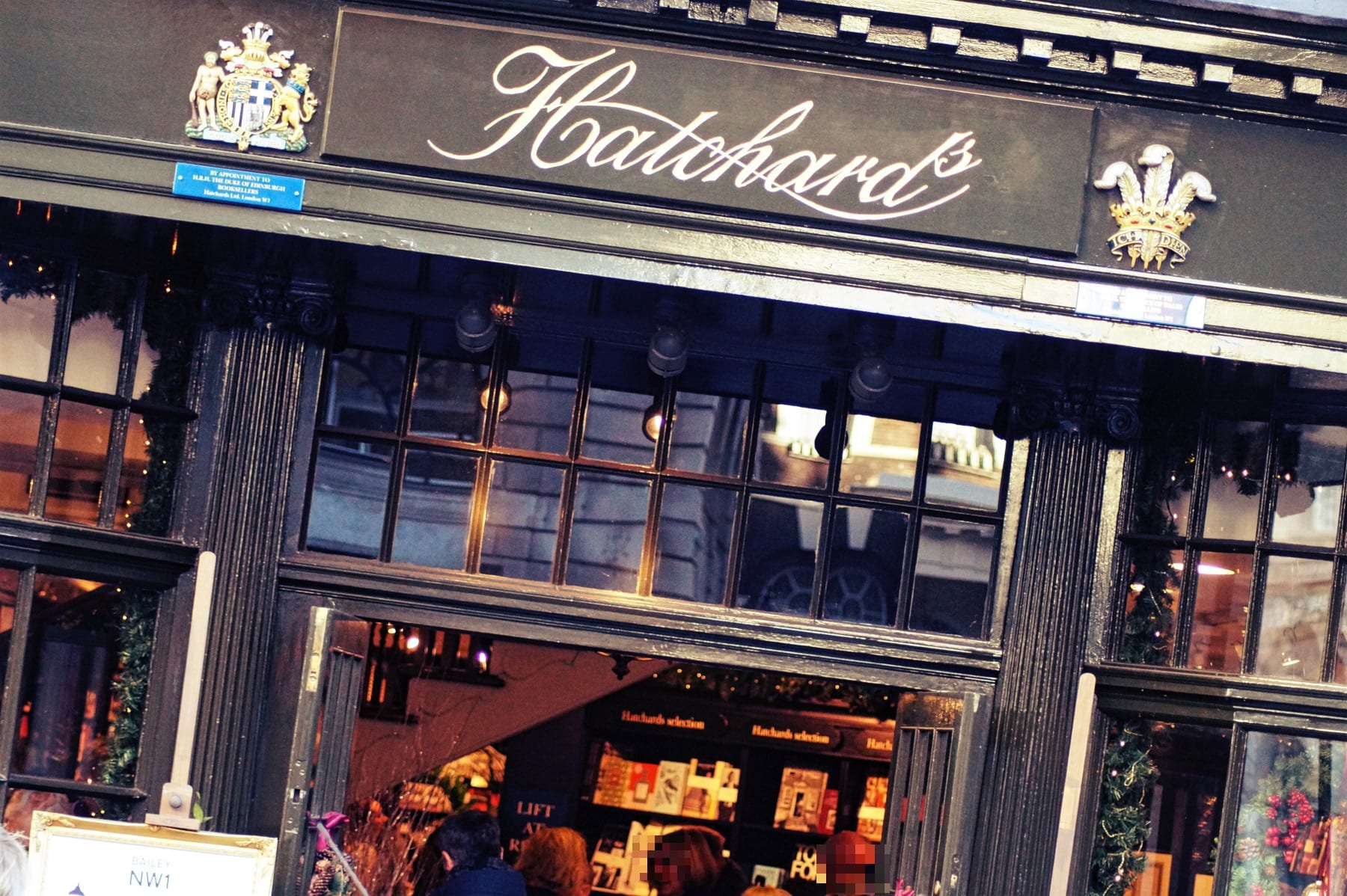 hatchards-london-eingang