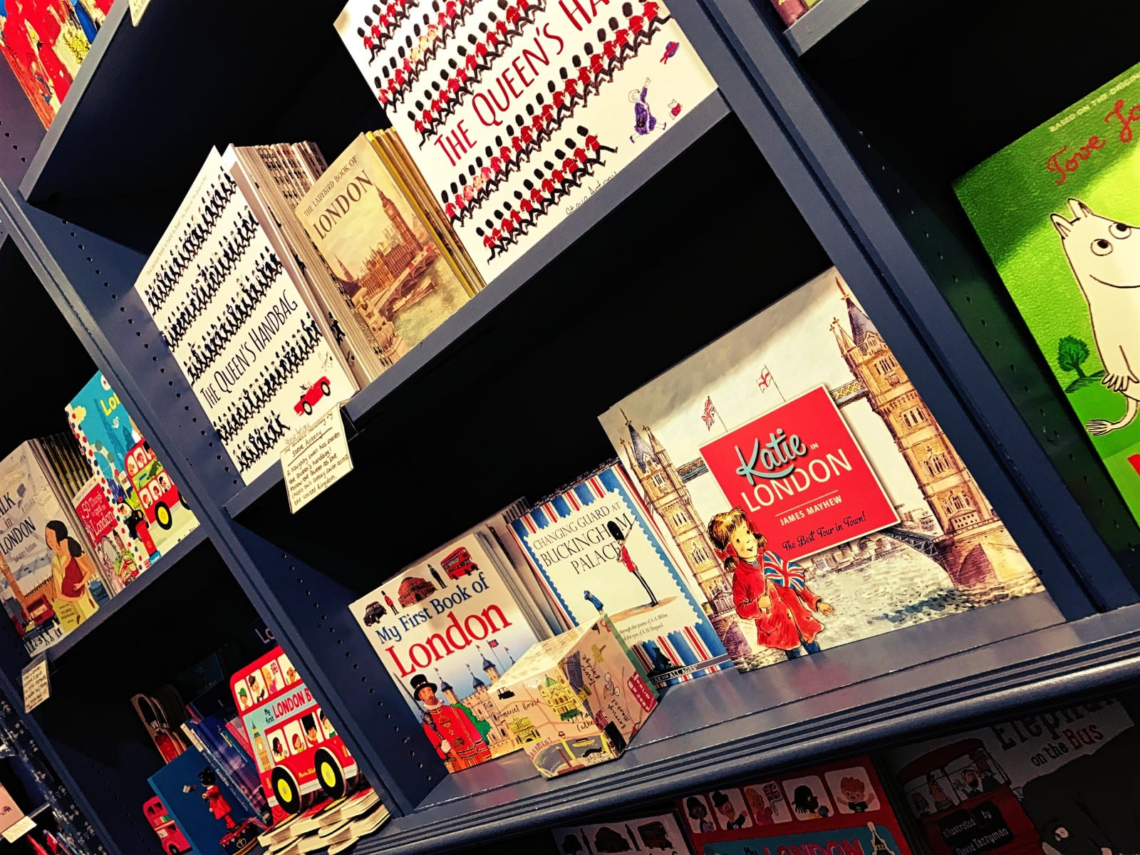 Die Kinderbücher hier sind auch sehr empfehlenswert - toll, um Kindern Englisch beizubringen!