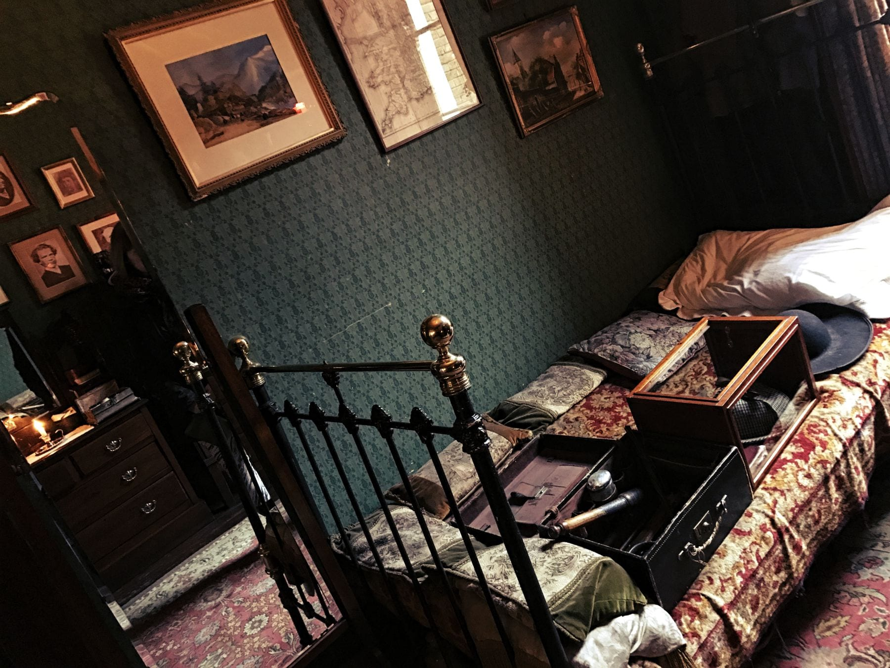 Das Schlafzimmer von Sherlock Holmes