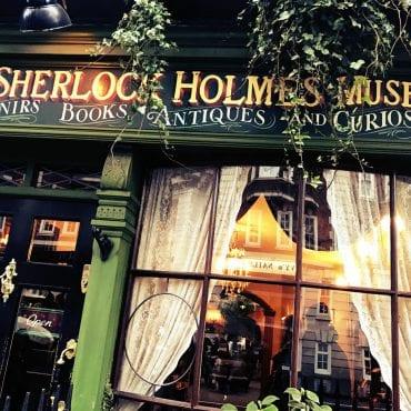 Sherlock Holmes Museum in der 221b Baker Street