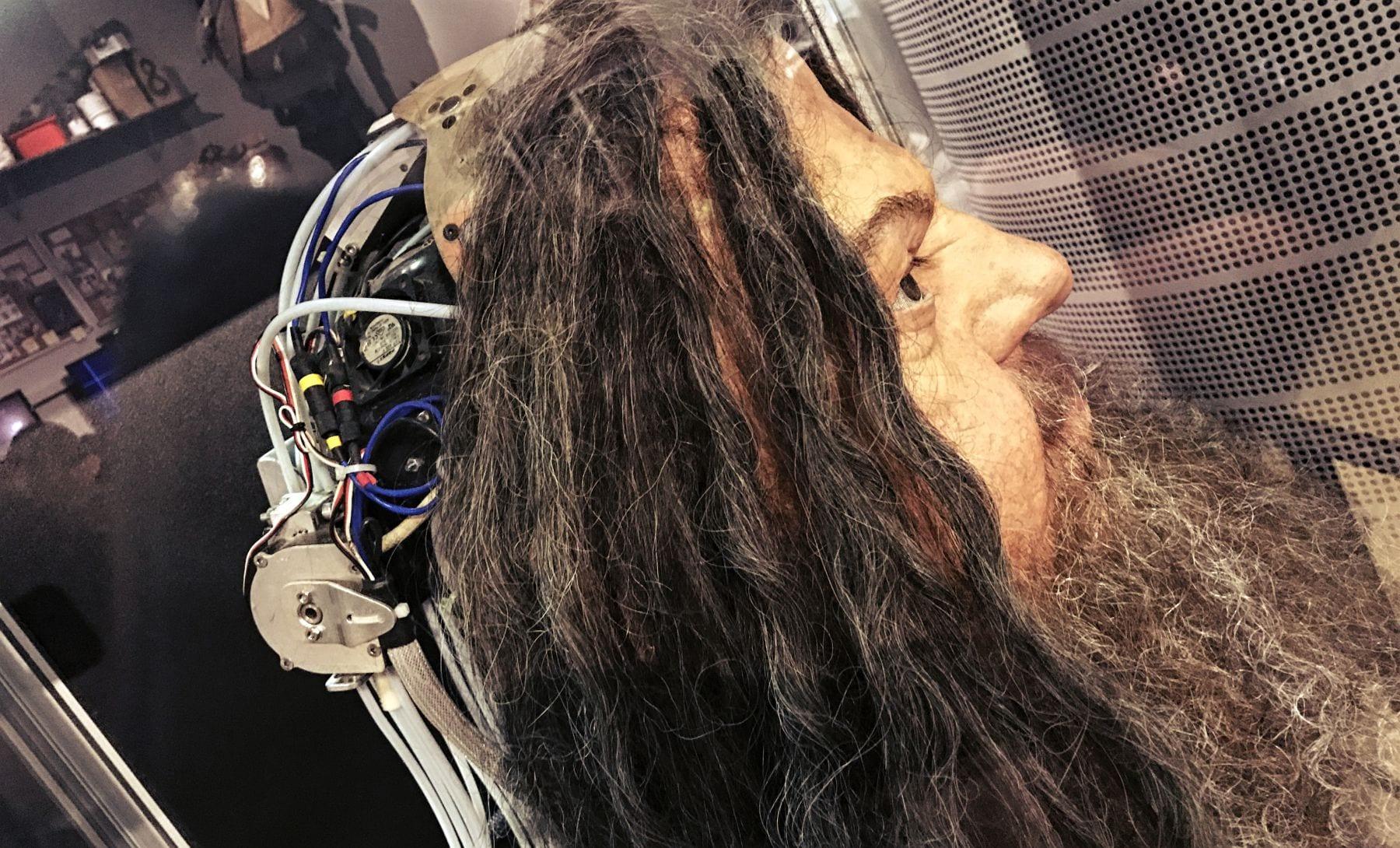 Hagrids Roboterkopf