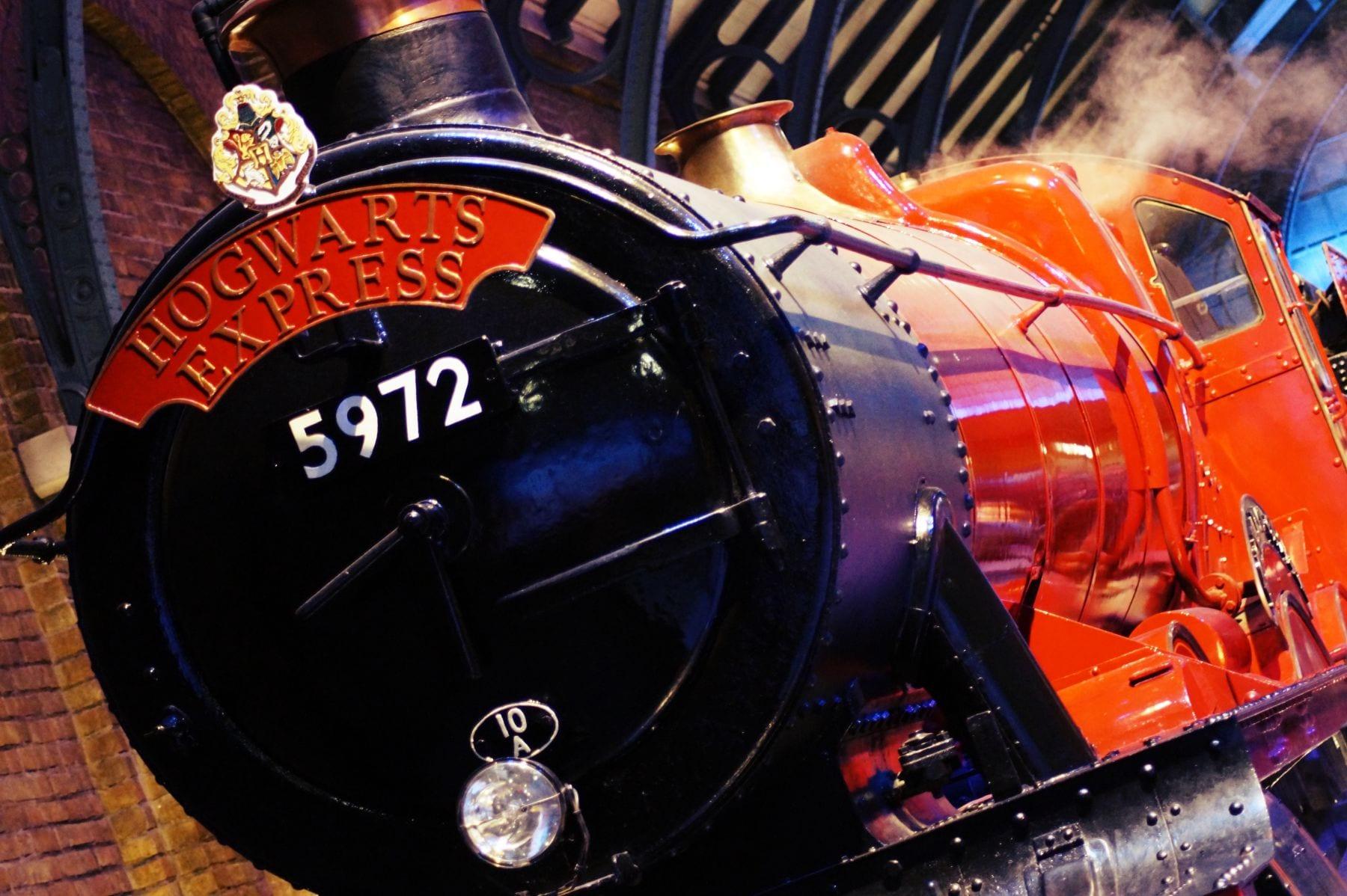 Ein tolles Bild - der originale Hogwarts Express