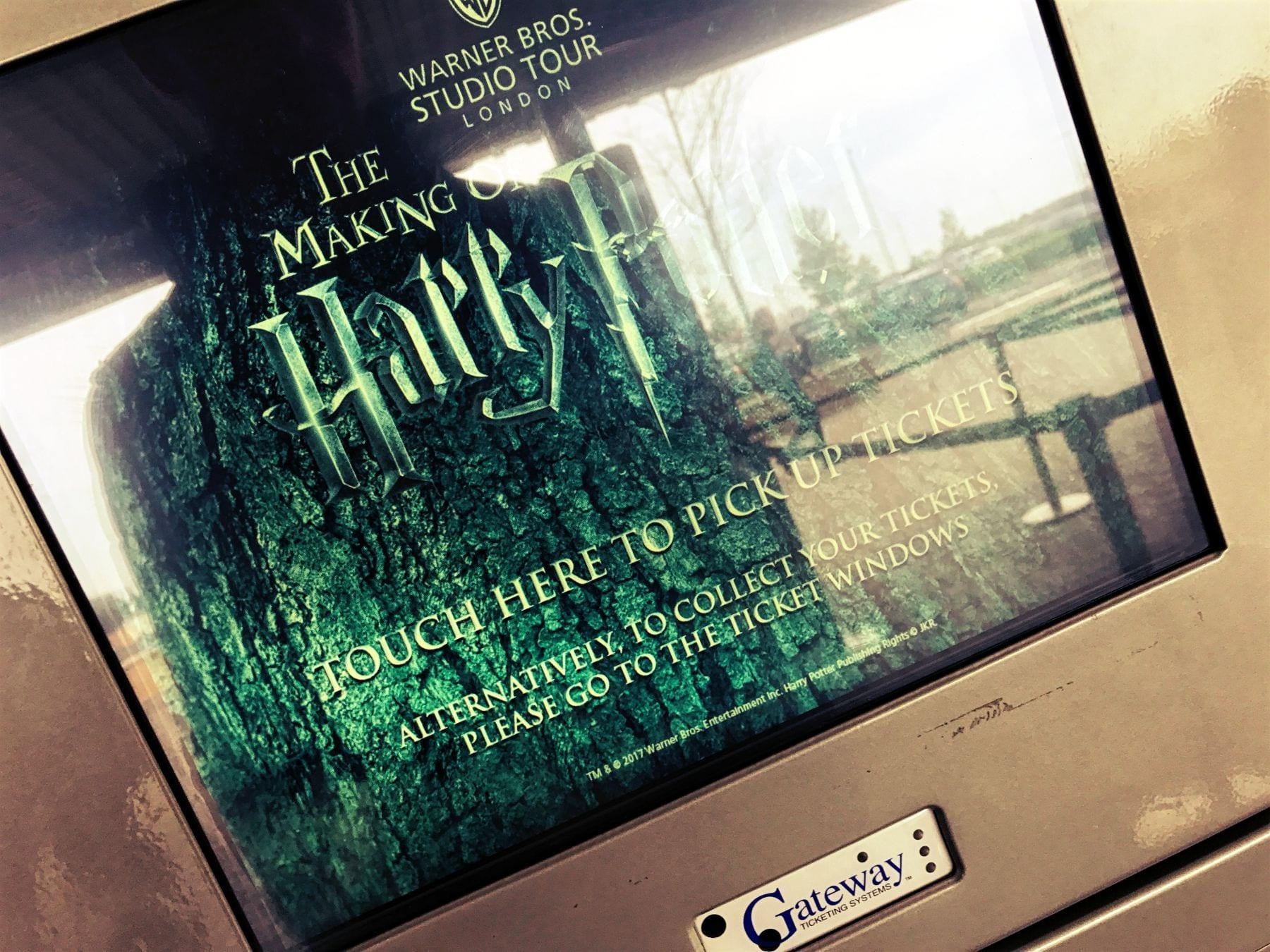 Hier kann man das Ticket ausdrucken