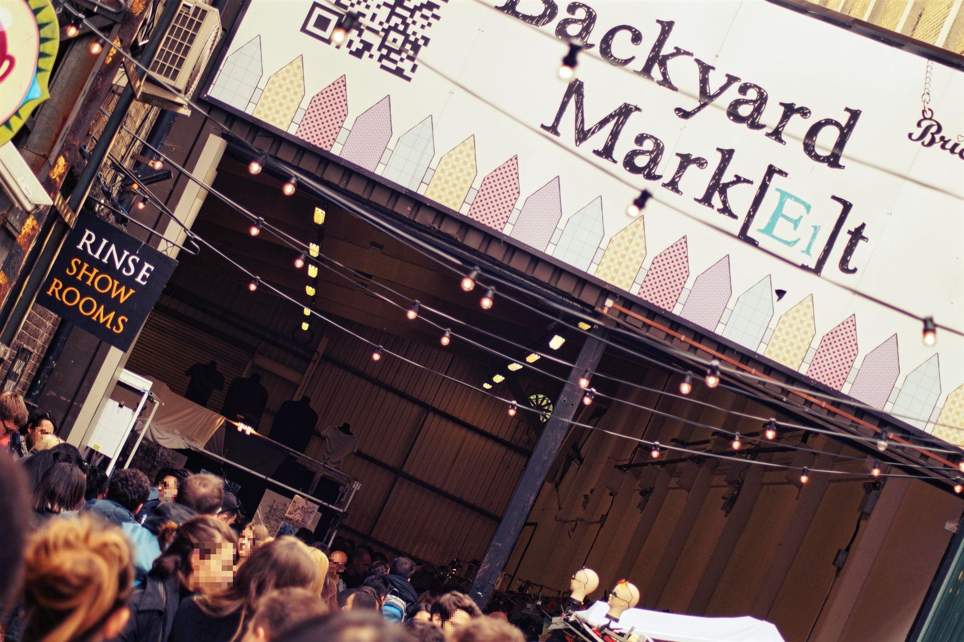 Brick Lane Market - das Alternative London - Londonblogger.de