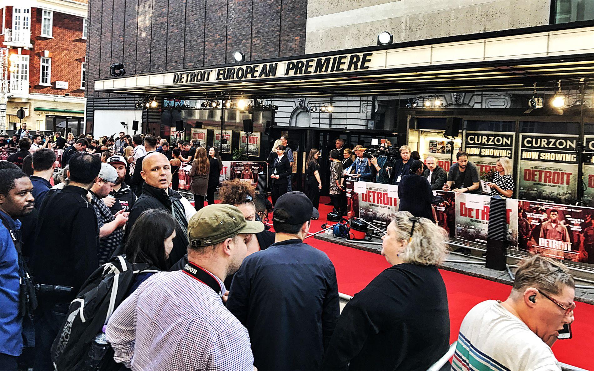 Filmpremieren und roter Teppich in London  Londonbloggerde