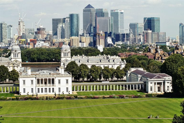 Royal Observatory Greenwich – Mitten am Nullmeridian