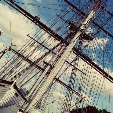 Cutty Sark – das Schiffsmuseum