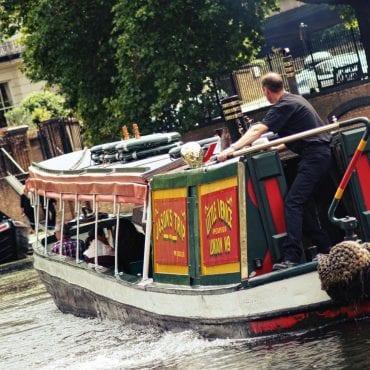 Regent's Canal Boat Trip nach Camden